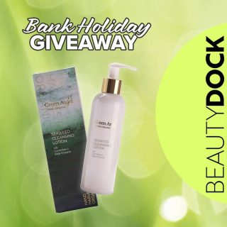 What is a better way to finish our seaweed week than GIVEAWAY! 🥳  Win this gorgeousGreen Angel Seaweed Cleansing Lotion @greenangelskin All you have to do is:  💚LIKE this image 💚TAG a friend 💚FOLLOW Beauty Dock ➕ Share on Insta story for BONUS entry Winner will be announced on Tuesday 6th Good luck to everyone! 🇮🇪 Ireland and Northern Ireland only  ................................................................... Green Angel Seaweed Cleansing Lotion combines four species of nutrient rich, hand-harvested Organic Irish seaweeds with the benefits of Vitamin E, Thyme, Cucumber and Sage extracts all potent antioxidants.  This gentle seaweed, cucumber and sage cleansing lotion helps remove external environmental aggressors more commonly known as free radicals as well as dirt, makeup, bacteria and oils that accumulate over the course of the day. As you use the cleansing lotion you increase the skin's PH level thus opening the pores of the skin and allowing the benefits of these wonderfully powerful botanical ingredients to work. #beautydock #greenangel #madeinireland #irish #irishmade #giveaway #beautygiveaway #seaweed #bankholiday