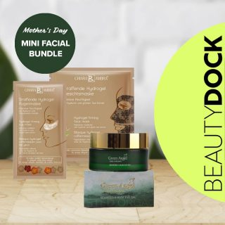 Treat your Mum to Mini Facial Bundle this Mother's Day. 😍 She will definitely love it. One bundle contains: 🤎1 x Hydrogel Firming Face- Maskintensive moisture with hyaluronic acid and green tea extract. 🤎1 x Hydrogel Firming Eye Mask-For a firmed and more youthful eye area with a freshness boost for tired looking eyes. 🤎1 x Green Angel Eye Gel- Helps to soften fine lines on all skin types, great for puffiness on the delicate skin below the eyes. 🔝TOP TIP store in the fridge for that perfect cooling effect whenever needed! 🇮🇪 Shipped from Ireland  #mothersday #mothersdayireland #giftideas