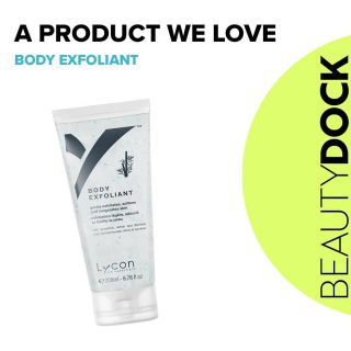 A product we love ♥  Lycon Body Exfoliant with Grapefruit, Lemon and Bamboo granules  🍋 A light and creamy body scrub with Bamboo polishing fibers.  🍋 Quickly buffs off dry skin and dead cells, unblocks congested pores and helps uncover and dislodge ingrown hairs. 🍋 Great to use before a spray tan to remove dead cells, ensuring a flawless, even, longer-lasting tan. Plastic bead free Vegan | Cruelty Free | Gluten Free 🇮🇪 Shipped from Ireland  #beautydock #bodyexfoliant #lycon #smoothskin #softskin #vegan