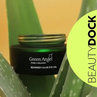Bye, bye under eyedark circles 😊 Amazing product from @greenangelskin containing seaweed is EYE GEL 😍 💦Seaweed & Aloe Eye Gel is soothing and cooling. 💦Helps to reduce puffiness & gives a sense of relief to the eyes. 💦Apply a small amount before moisturiser morning and evening OR use as an under eye mask when your eyes get sore for an almostimmediate relief  ❕TOP TIPstore in the fridge for that perfect cooling effect whenever needed! 🇮🇪 Shipped from Ireland  #beautydock #greenangel #seaweed #seaweedskincare
