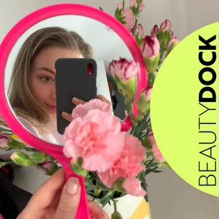 Gorgeous Juliette loving her new pink mirror 😍😍 Get yours FREE with Eyebrow Tool Kit  Toolkit contains: 🌸 Dual Ended Eyebrow Brush 🌸 Precision Black Tweezers 🌸 Brow Scissors  🇮🇪 Shipped from Ireland  #beautydock #offer #free #freemirror #beauty #pink #lycon